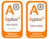 Carpintería Metálica Galanas - Certificados 9001 y 14001
