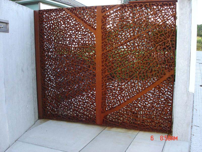 Acero corten tipo de acero corten imitacin acero corten for Acero corten perforado oxidado