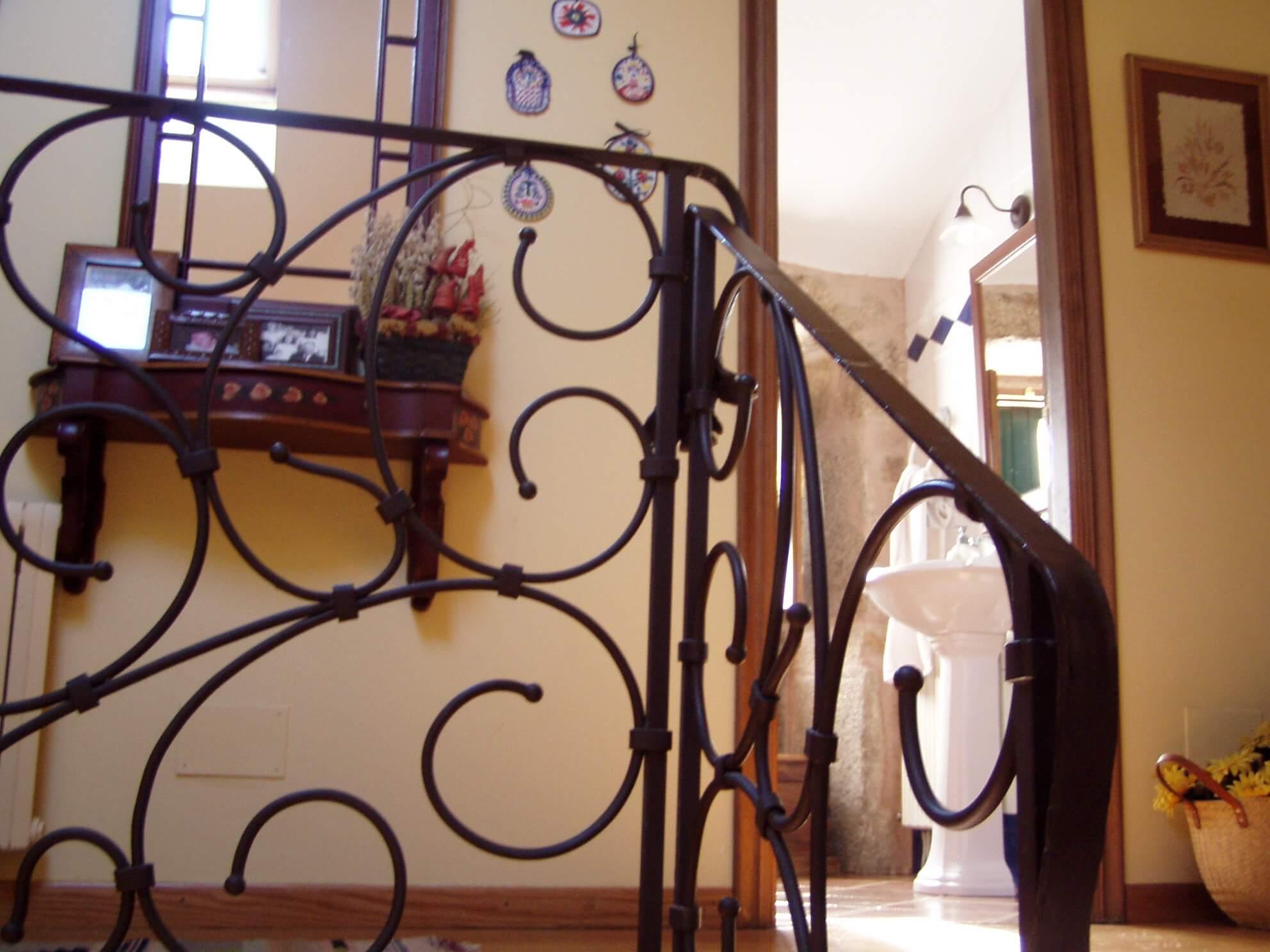 Trabajos En Forja Barandillas Escaleras Viviendas ~ Barandillas De Forja Para Escaleras De Interior